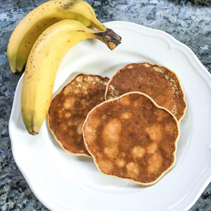 Bananen-Kokos Pancakes