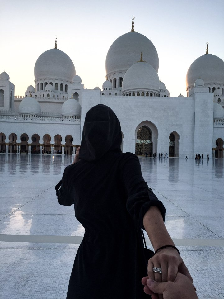 Abu Dhabi -Scheich ZayidMoschee