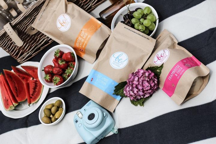 Picknick mit be! GourmetPopcorn